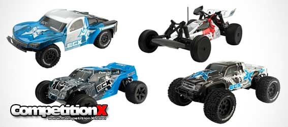 Updated ECX Circuit ST, Ruckus MT, Boost Buggy and Torment SCT