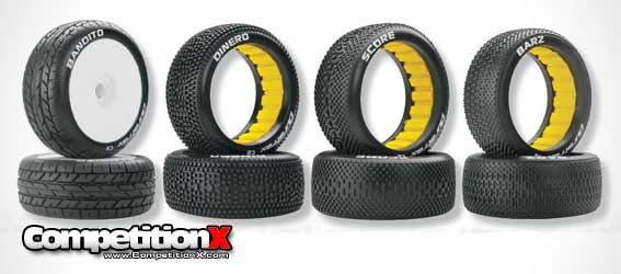 Duratrax 1/8 Scale Buggy Tires - Bandito, Dinero, Score, Barz