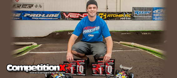 Hartson Leads Team Associated to Seven Wins at 26th Annual April Fools Classic
