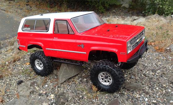 Vaterra 1986 Chevrolet K5 Blazer Ascender Build