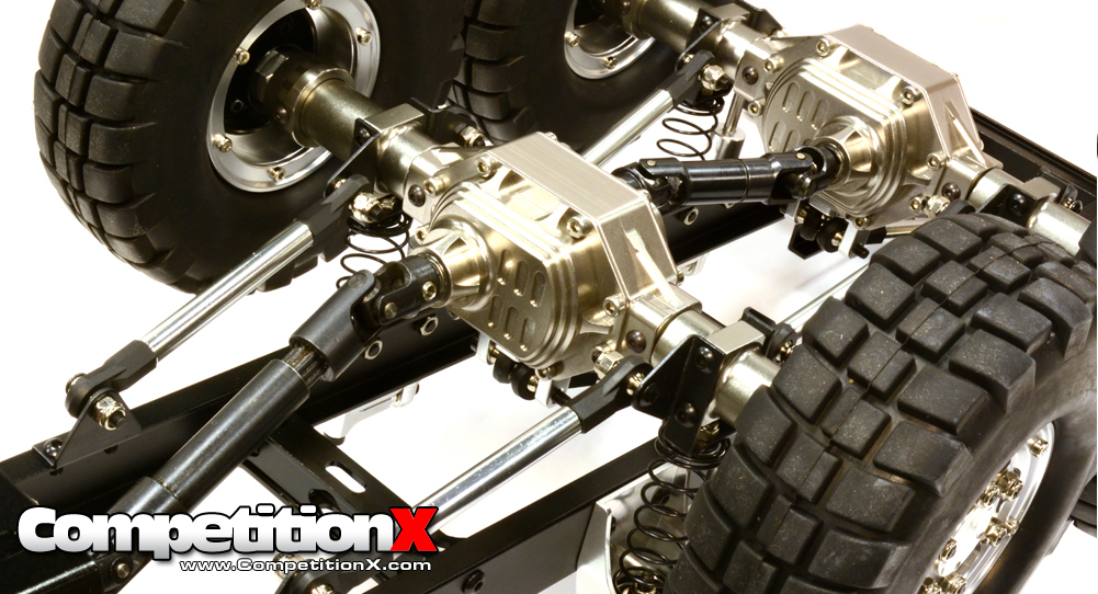 6x6 Axle Conversion Kit