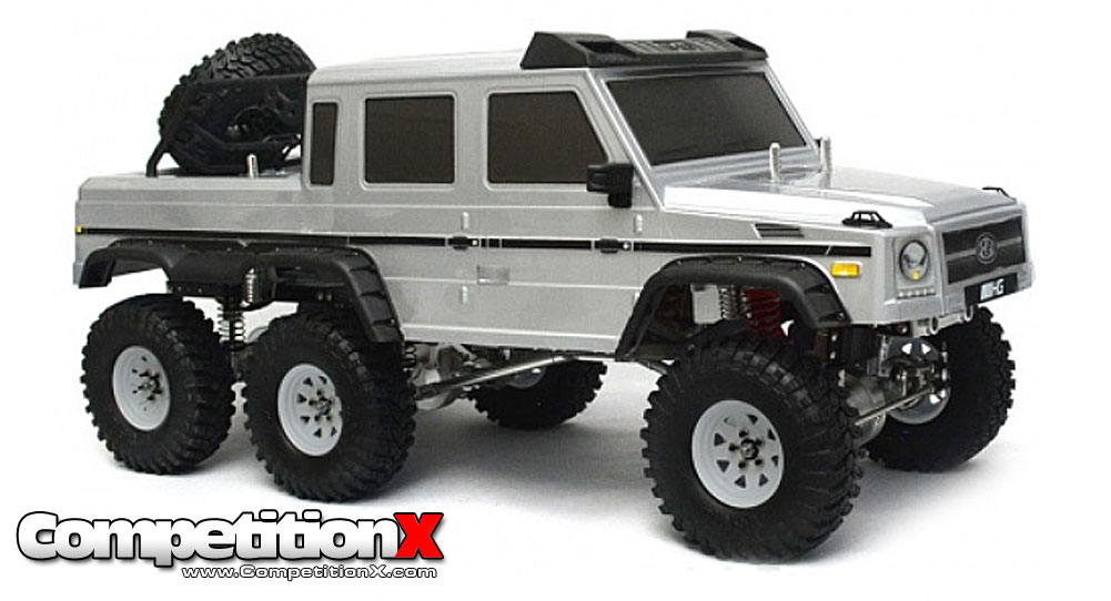 boom racing mercedes g63 6x6 scale truck. Black Bedroom Furniture Sets. Home Design Ideas