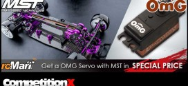 RCMart Offering MST Car Kit with OMG Servo at Awesome Price