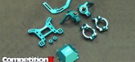 STRC CNC-Machined Blue Aluminum Parts - Axial Yeti