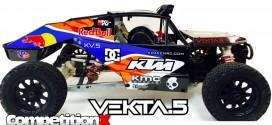 Kraken RC Vekta.5 Ultra 4 Class 1500 Unlimited Gas Buggy