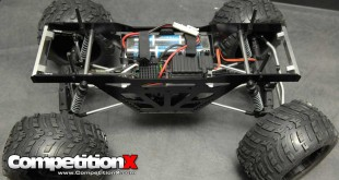 Team STRC Aluminum Monster Truck Racing Chassis for Axial Wraith