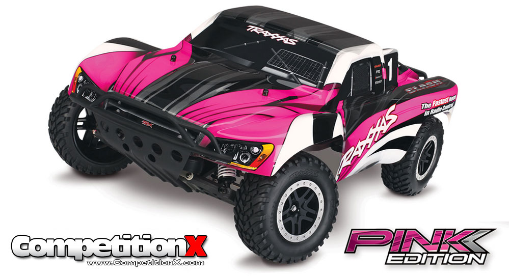 Traxxas Courtney Force and Pink Edition Vehicles