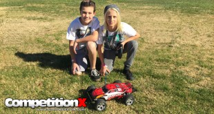 RC Sighting - Stuart and Sean with their Traxxas Rustler