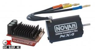 Novak Hammer / NX4 Sensored 1:10 Brushless Combo