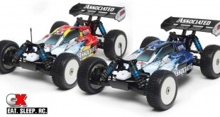 Team Associated RC8.2e Brushless LiPo RTR Combos