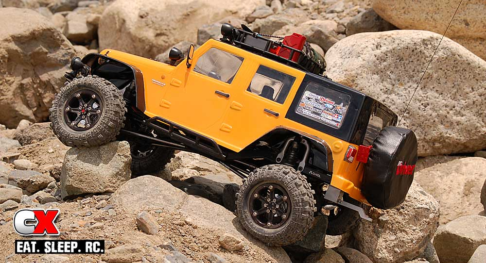 Project Axial Scale Trail Truck Scx10 Custom Build
