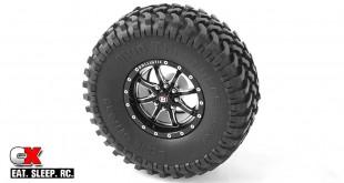 RC4WD Ballistic Offroad Anvil 1.55 Beadlock Aluminum Wheels