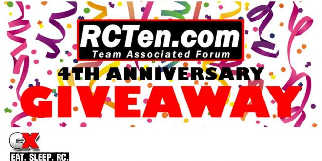 RCTen.com Forum Celebrates 4 Years with a Spectacular Giveaway