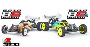 Team Associated RC10B6 and RC10B6D