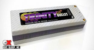 Trinity White Carbon 4S 6000mAh LiPo Battery