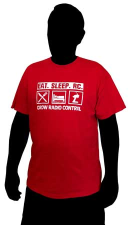 CompetitionX Eat Sleep RC T-Shirt