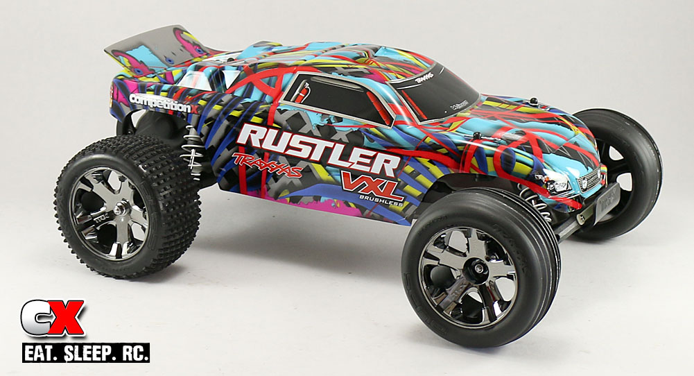 Review Traxxas Rustler VXL RTR Courtney Force Edition