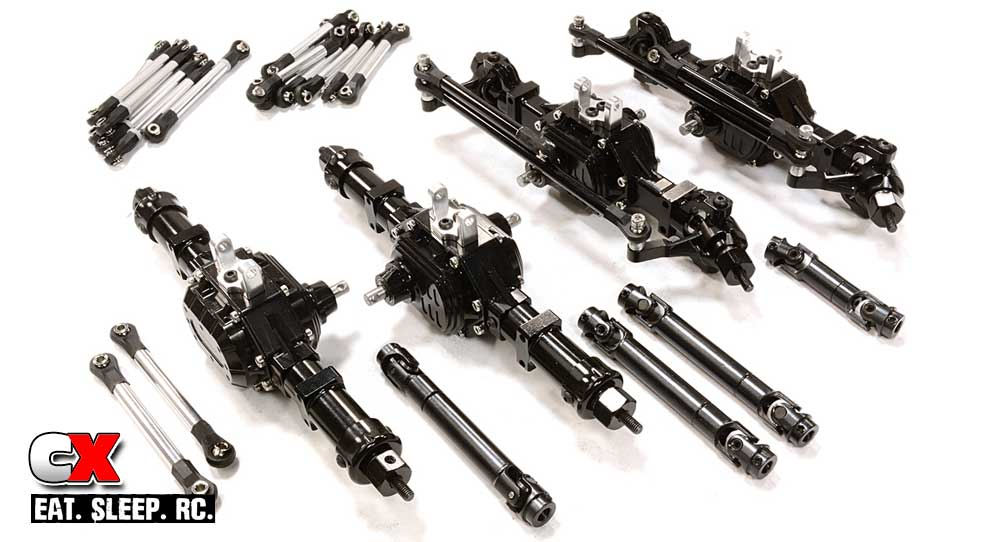 Integy 6x6 and 8x8 DIY Axle Conversion Kits