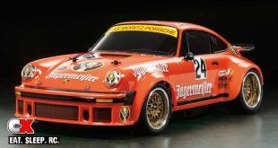 Tamiya Commemorative Porsche 934 Jägermeister - TA02SW