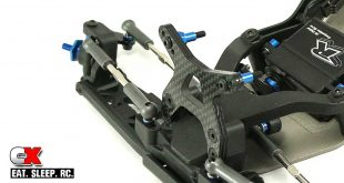 Team Associated RC10B6D Build - Part 6 - Turnbuckles and Shock Towers