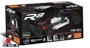HB Racing R8 1:8 Scale Nitro Onroad Kit