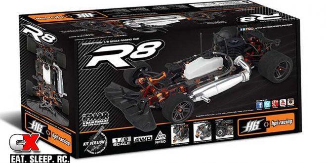 HB Racing R8 1:8 Scale Nitro Onroad Kit