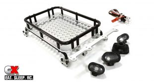 Integy Aluminum Scale Luggage Rack with Spot Lights