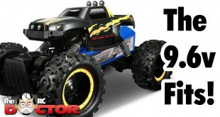 Convert my Masito Rock Crawler to 9.6v