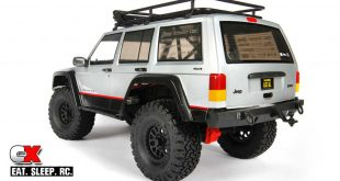 Axial Clear 2000 Jeep Cherokee Body