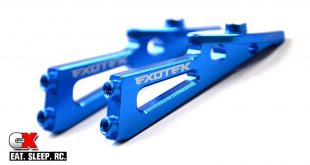 Exotek Aluminum Wing Mounts for the Team Associated B6 / B6D