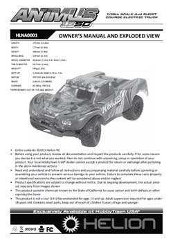 Helion RC Manuals
