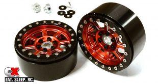 Integy 2.2in Billet-Machined 8-Spoke Beadlock Wheels