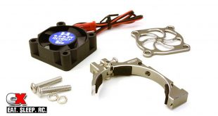 Integy 30x30x10 High Speed Cooling Fan and Clamp Mount