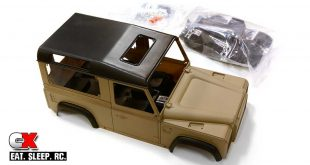 Integy 1:10 Scale LR Type D90 Hardbody Set