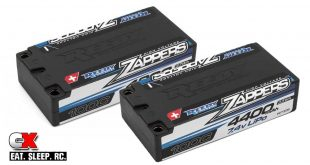 Reedy Zapper Hi-Voltage LiPo Batteries - 4400mAh and 4800mAh