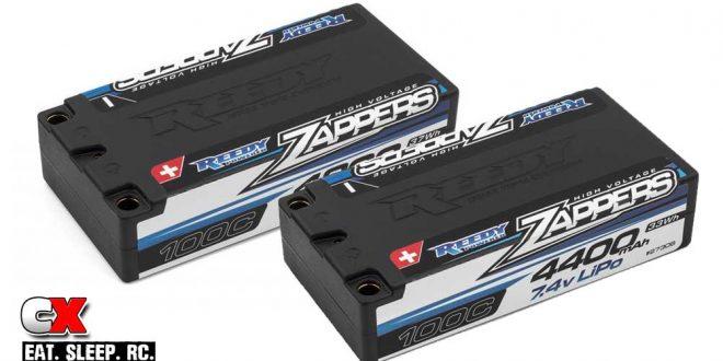 Reedy Zapper Hi-Voltage LiPo Batteries - 4400mAh and 4800mAh
