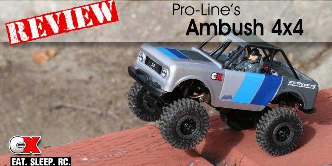 Review: Pro-Line Racing Ambush 4x4 Mini Scale Crawler