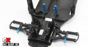 Tamiya TA07 Pro Build Part 2 - Front Suspension