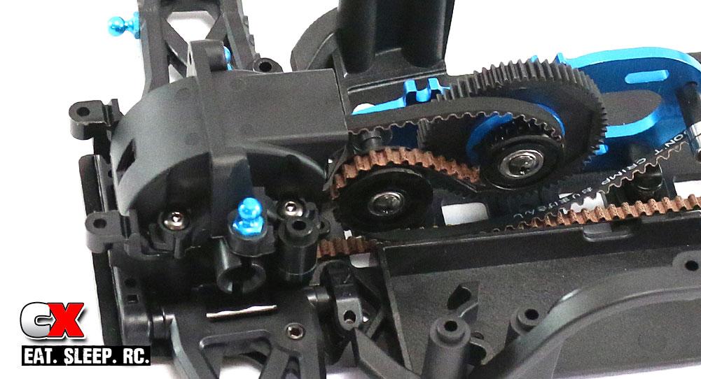 Tamiya TA07 Pro Build Part 5 - Motor Mount / Drive Belt