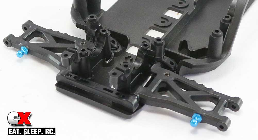 Tamiya TA07 Pro Build - Part 1 - Rear Suspension