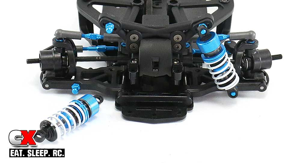 Tamiya TA07 Pro Build Part 8 - Shocks
