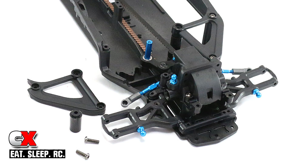Tamiya TA07 Pro Build Part 6 - Steering