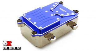 Integy Metal Receiver Box for the Axial SCX10