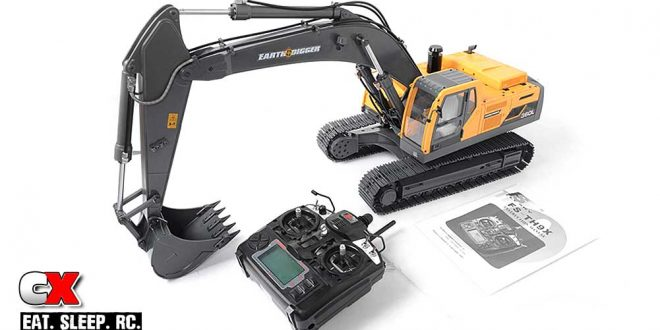 RC4WD 1/14 Scale Earth Digger 360L Hydraulic Excavator RTR