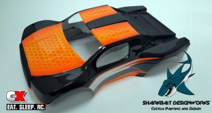 RC Painting Tutorial: Sharkbait Designworks Advanced Honeycomb Design