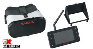 Tactic 5.8GHz FPV Goggles and Monitor