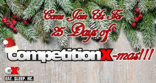 Eat. Sleep. RC. - 25 Days of CompetitionX-mas