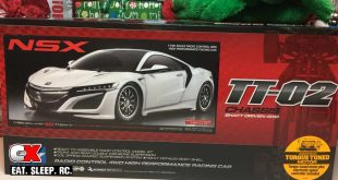 25 Days of CompetitionX-mas – Tamiya Donates Their New NSX