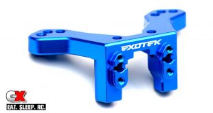 Exotek Alloy Rear Camber Link Mount for the Team Associated B6/B6D