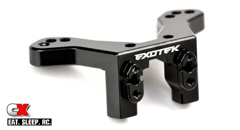 Exotek Alloy Rear Camber Link Mount for the Team Associated